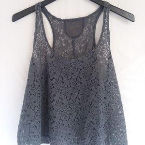 womens lace tanktop sz XL